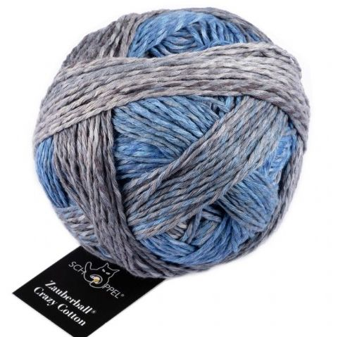 ZAUBERBALL CRAZY COTTON 2390 sea and some